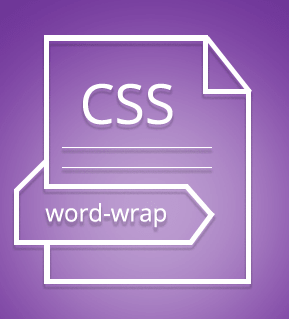 CSS word wrap property