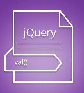 val() method in jQuery with detailed examples