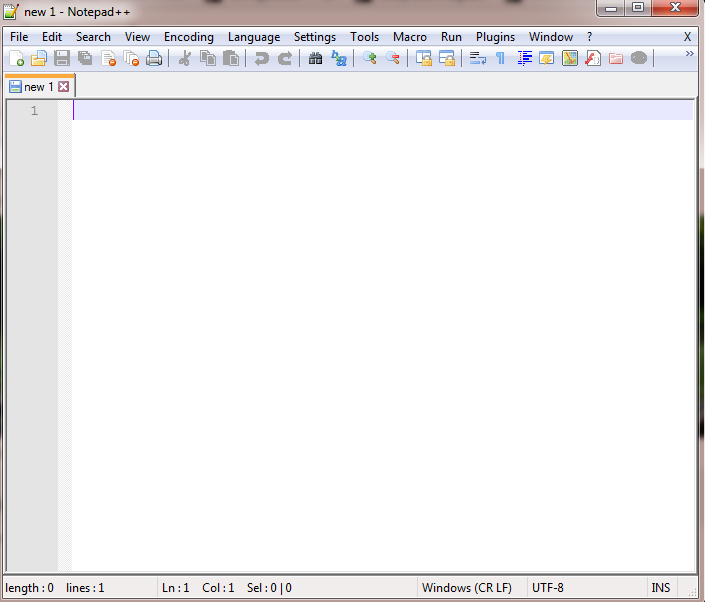 Open Notepad++
